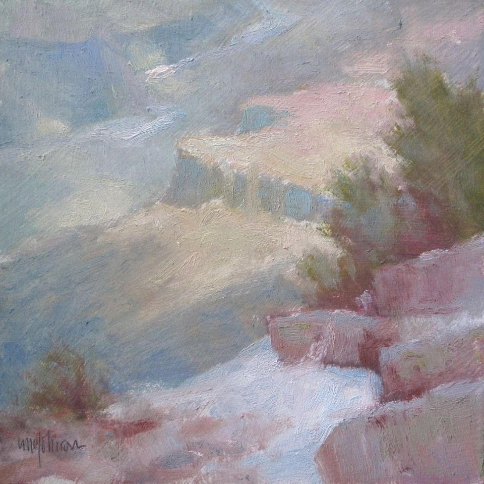 Small Grand Canyon Painting Series Painting