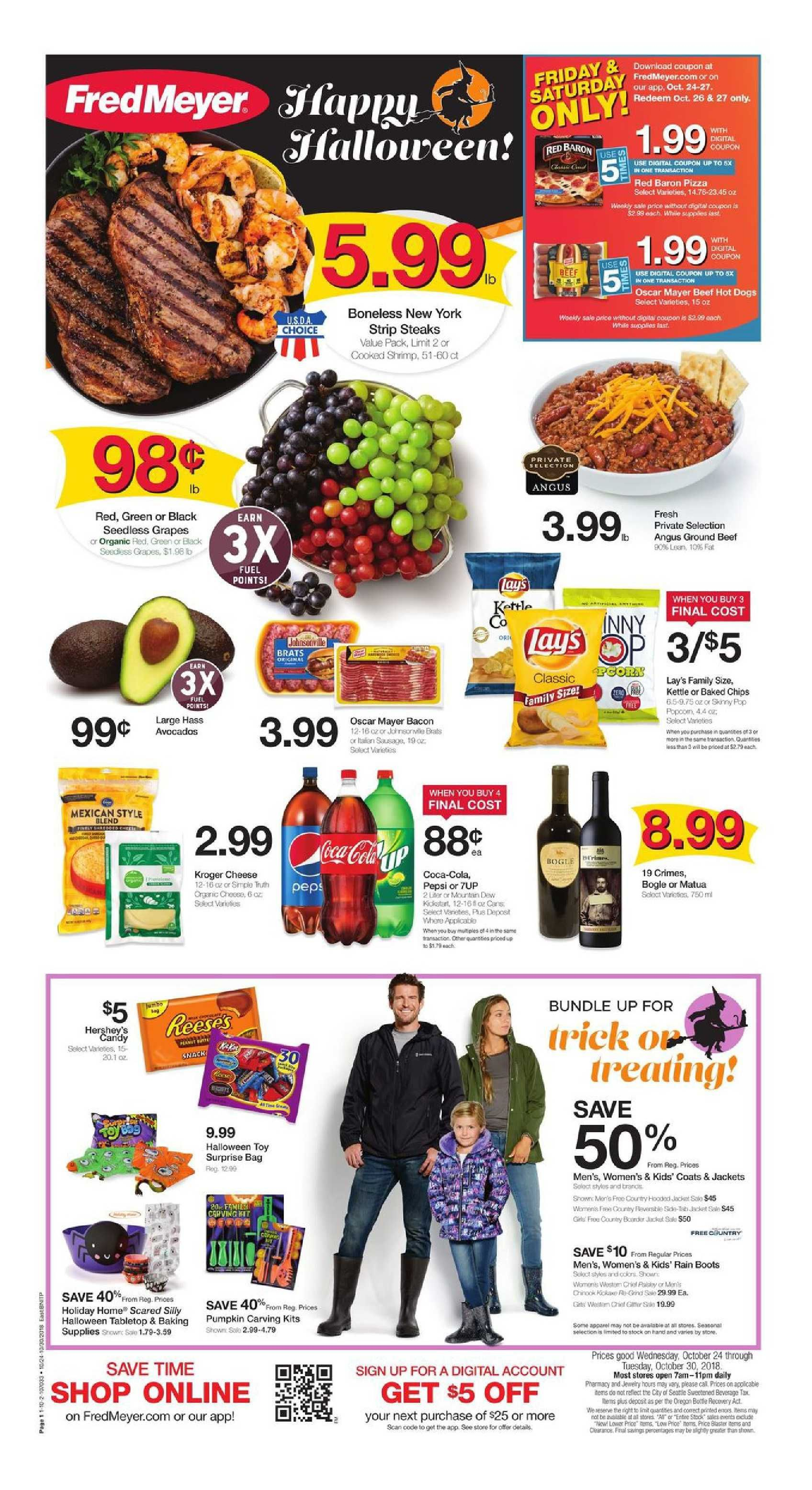 Fred Meyer Weekly Ad Flyer Mar 11 Mar 17 2020 Weeklyad123 Com