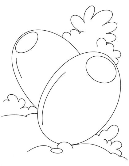 Olive Coloring Page Download
