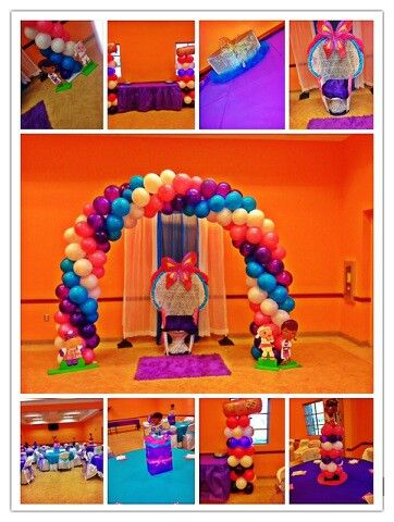 doc mcstuffins baby shower work by tmj red carpet events pinterest