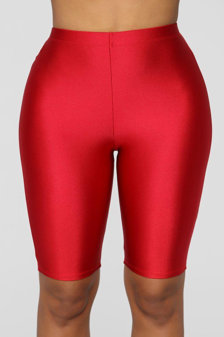 Womens Lyrca Shorts Ladies Cycling Legging Stretchy Plain Dancing Active Casual