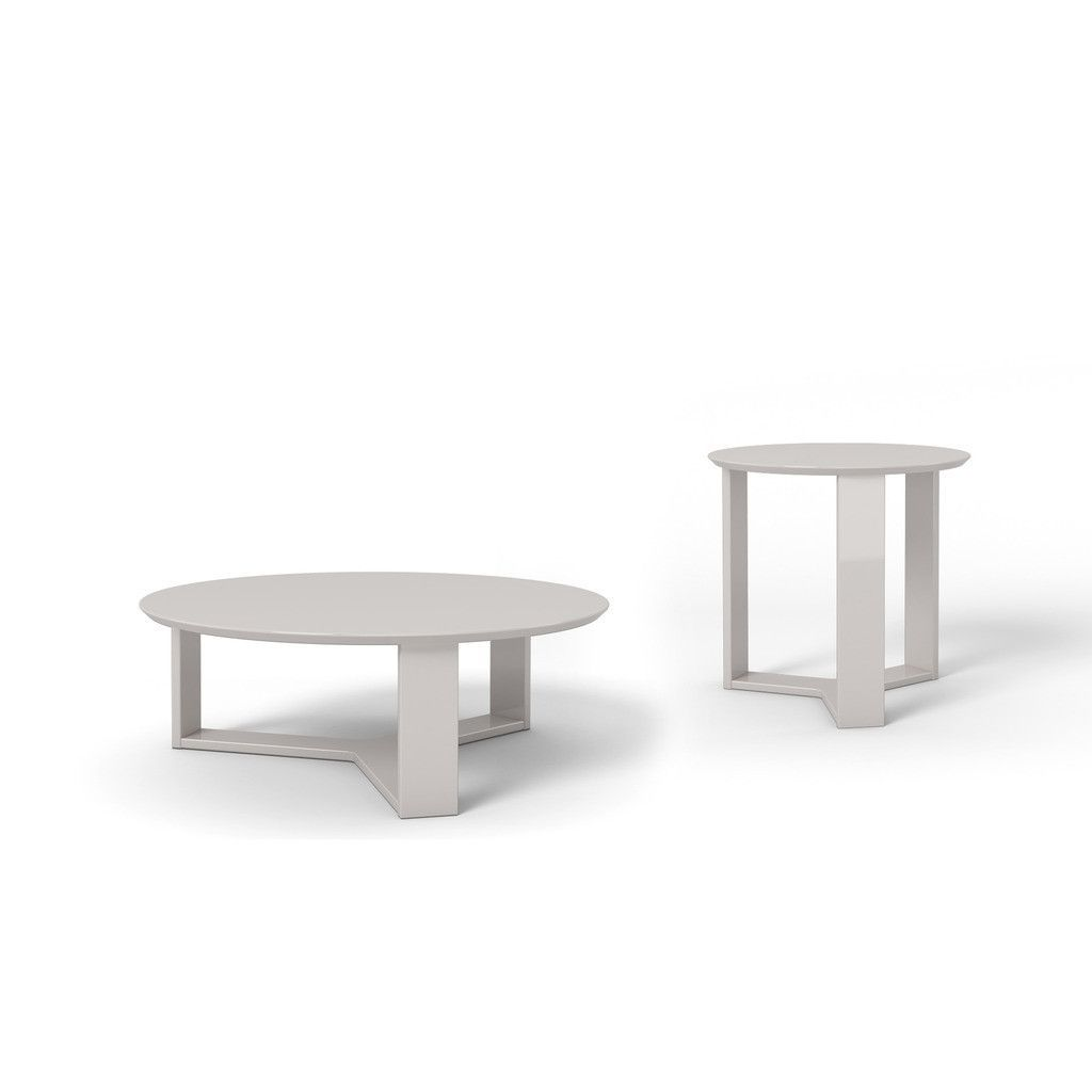 Madison piece accent table living room set in off white products
