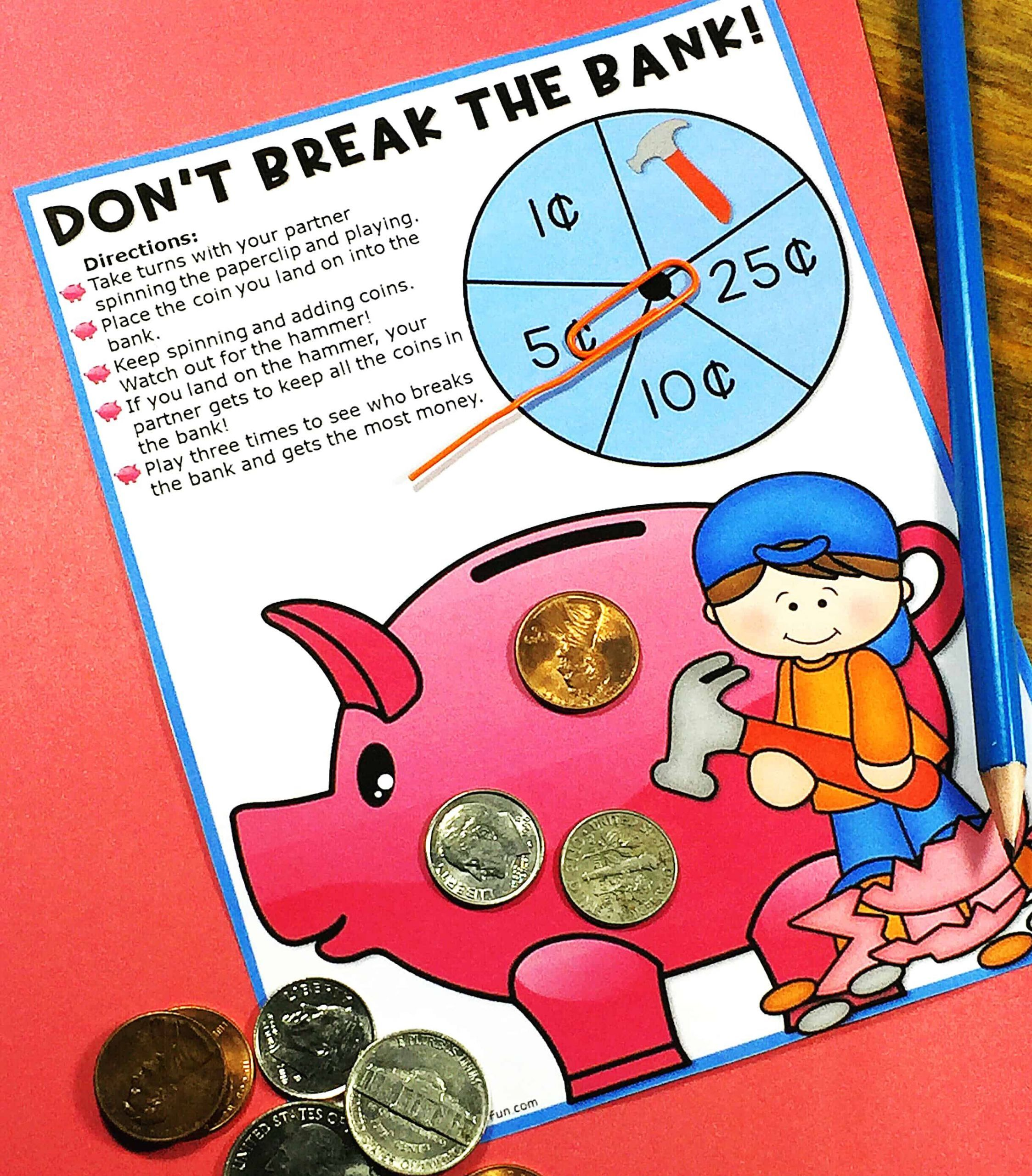 small resolution of Counting Money Worksheets Grade 2 Basic   Printable Worksheets and  Activities for Teachers
