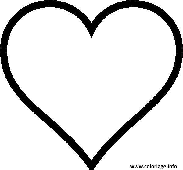 """Résultat de recherche d'images pour """"coloriage coeur ..."""