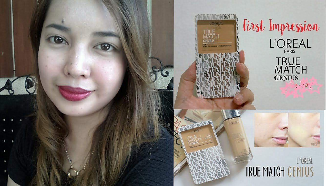 L'oreal True Match Genius( 4 in 1 ???)Powder Review/First impression