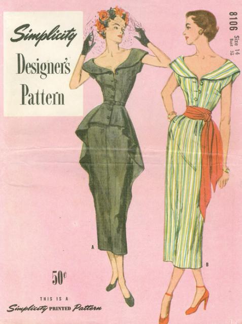 HG! Simplicity Designer's Pattern 8106 | Vintage clothes