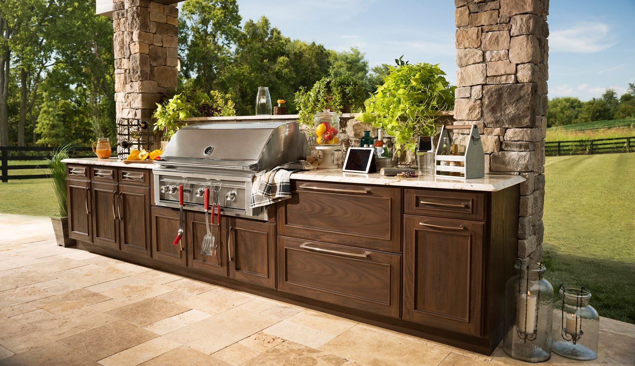 15 Best Outdoor Kitchen That Will Make Your Outside Area More Exciting Outdoor Kitchen Cabinets Outdoor Kitchen Design Outdoor Kitchen
