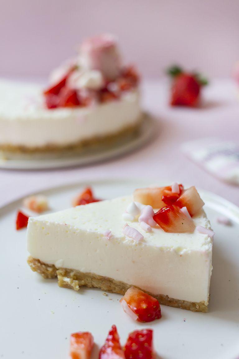 No Bake Cheesecake Low Carb Kuchen Ohne Backen Käsekuchen