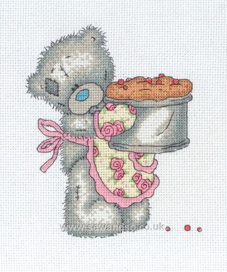 Tatty Teddy - Little Chef cross stitch