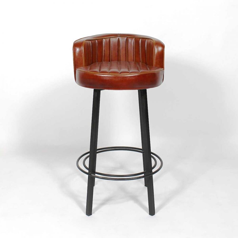 tabouret de bar design retro