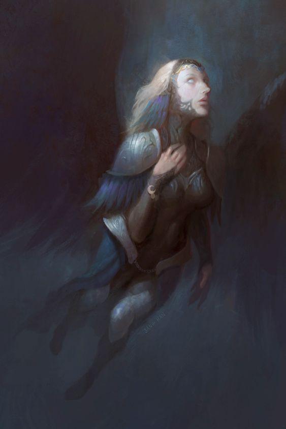 Dark Valkyrie 2 By Fluxen On Deviantart Fantasy Characters