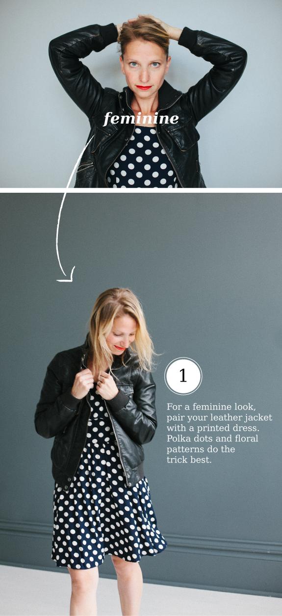 Dear to Wear It: Leather Jacket | Say Yes to Hoboken