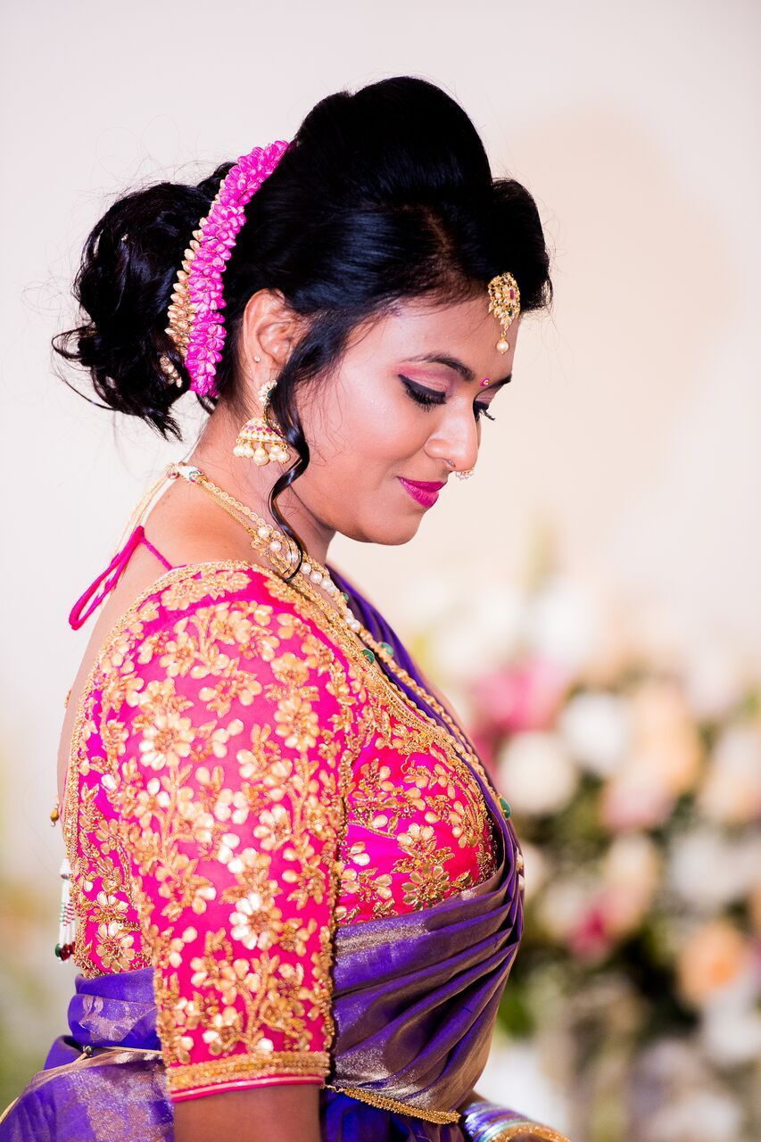 Kerala wedding reception dresses for the bride  Pin by Dn on Aunties  Pinterest  Blouse designs Saree and Saree