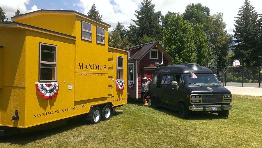Maximus Extreme Caboose Tiny House Swoon House On Wheels Tiny