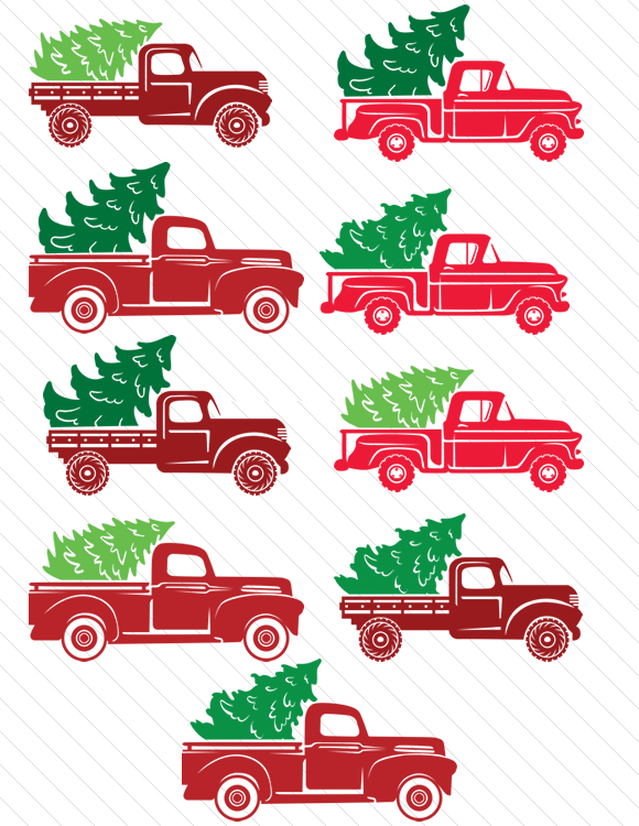 Christmas Truck Kit Create your own truck Christmas