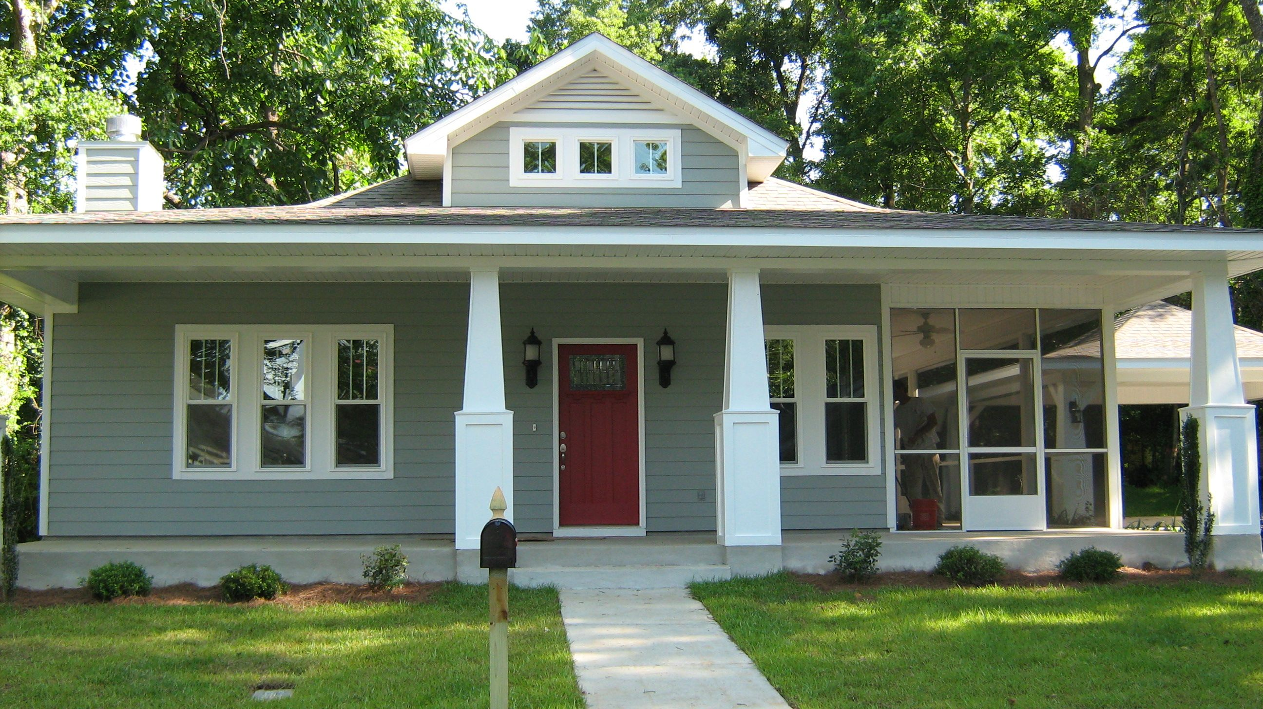 The Barbara 3 Beds 2 Baths 1484 Sq Ft Large Front Porch Spacious Side Screen Porch Op Craftsman House Plans Porch House Plans Craftsman Style House Plans