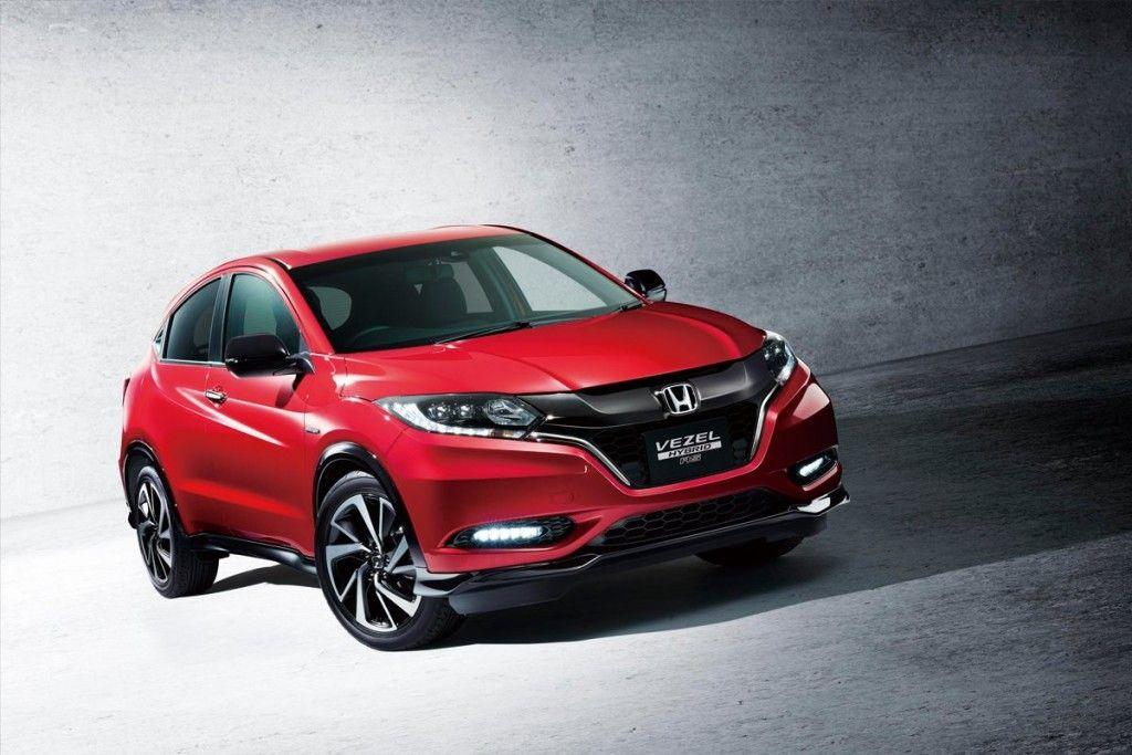 Honda Vezel Hybrid RS announced for Japan IAB Report