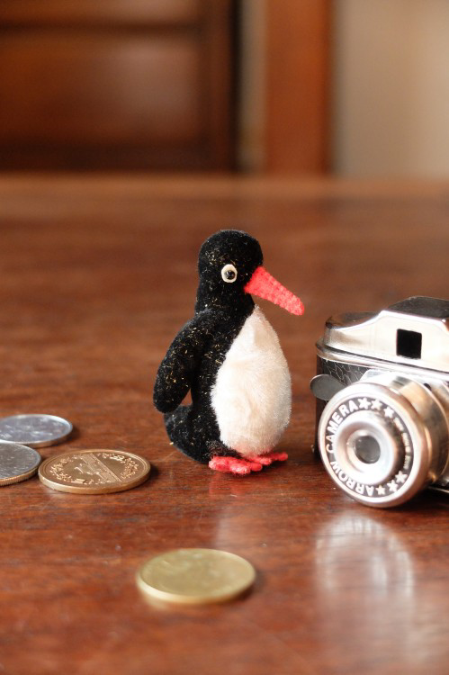 ペンギンのサイズ:5cm素材:ミニチュアファー、フェルト目:ビーズ(黒)※販売作品はペンギン1体になります。写真に写っている小物・他のぬいぐるみなどは付属しま...|ハンドメイド、手作り、手仕事品の通販・販売・購入ならCreema。