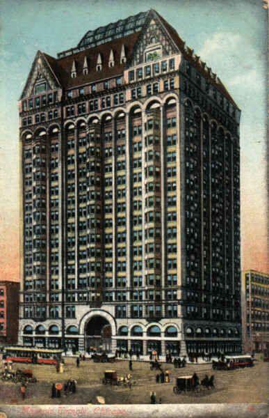 Daniel Burnham Buildings Chicago World Architecture Images