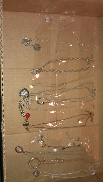 I feel so smart way to pack necklaces for moving without for How to pack jewelry for moving