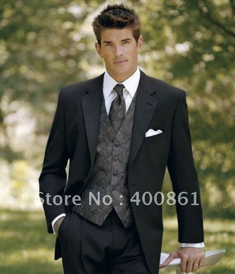 Custom-Made Classic Men's Wedding Dress Bridegroom Prom Clothing Groom Tuxedos