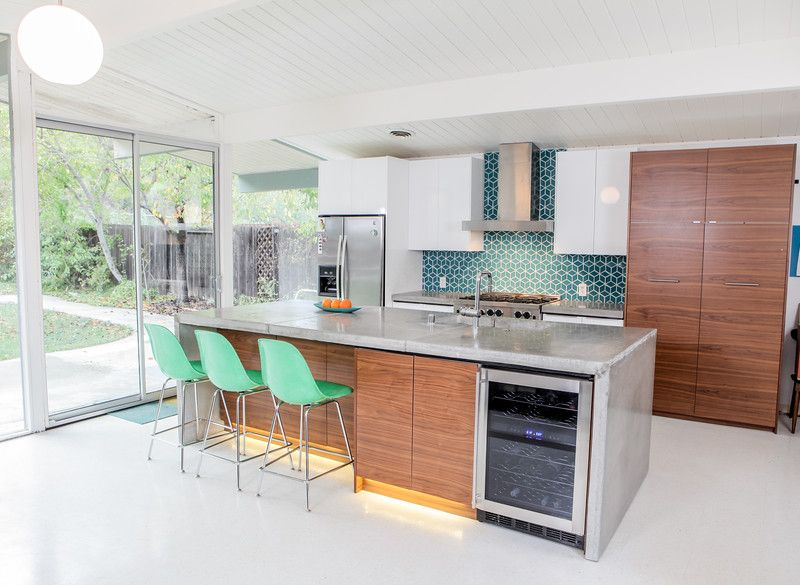 Best Eichler Kitchen Remodel Semihandmade Doors And Paneling 400 x 300