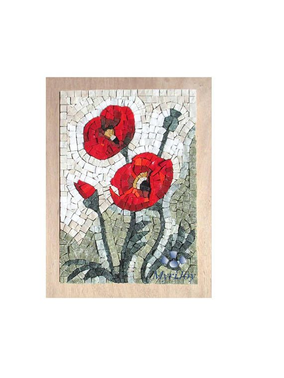 Model wildflowers poppies diy mosaic art kit size 31x23cm 9x12 model wildflowers poppies diy mosaic art kit size 31x23cm 9x125 description this do it yourself mosaic kit can be the perfect gift for those who solutioingenieria Choice Image