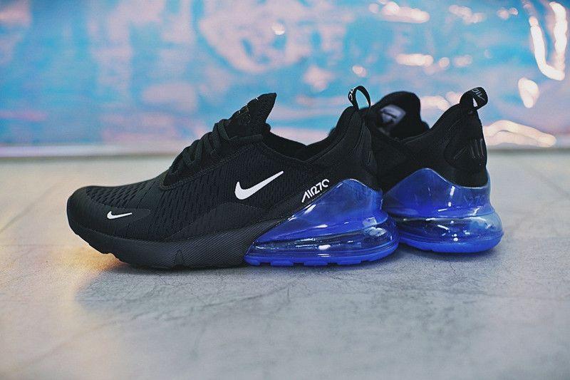 Verkauf Einzelhändler Qualität zuerst Größe 7 2019 的 Popular Nike Air Max 270 Mens Running Black Sapphire ...