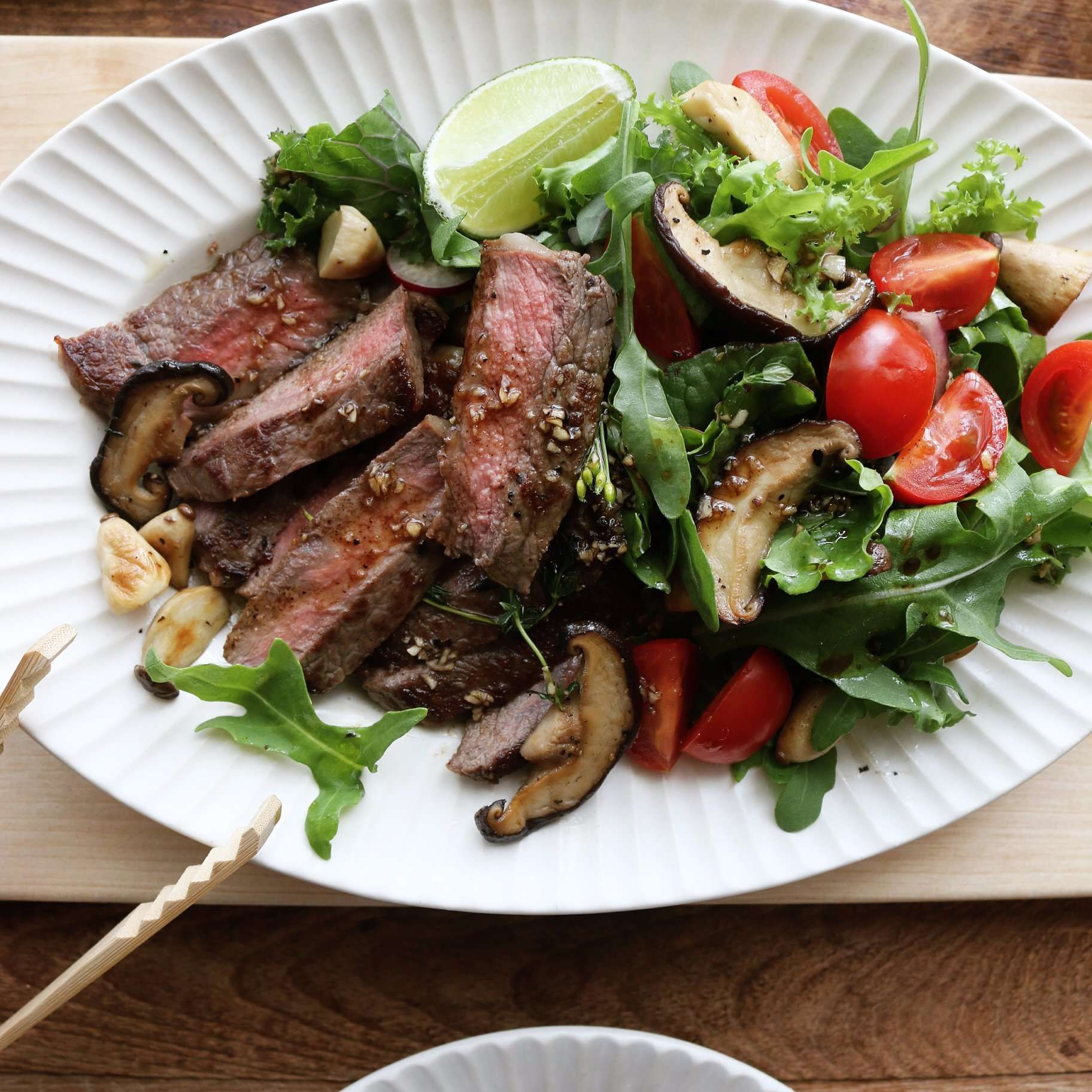Steak Salad 스테이크샐러드 - 아내의 식탁
