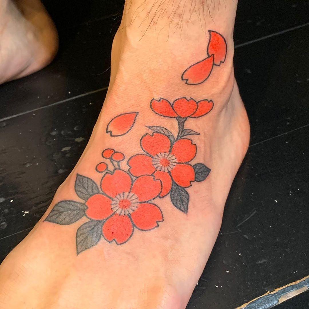 Inspirational japanese tattoos samples leg tattoos
