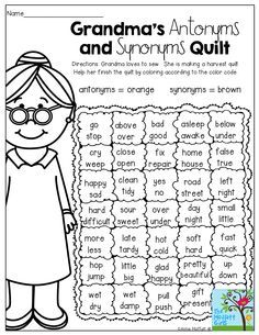 A Fun Way To Review Antonyms And Synonyms 3rd Grade Reading Speech And Language Teaching Language Arts