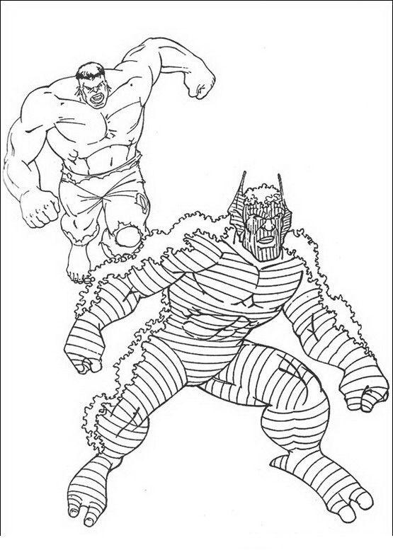 Kleurplaten De Hulk.Hulk Ausmalbilder 9 Kleurplaten Sketches En Hulk