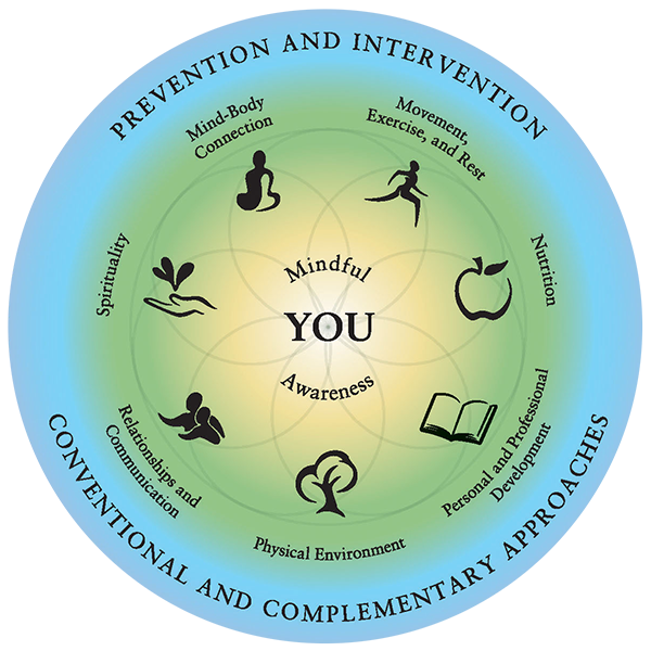Duke Integrative Medicine Wheel Of Health Integrative Medicine Integrative Integrative Health