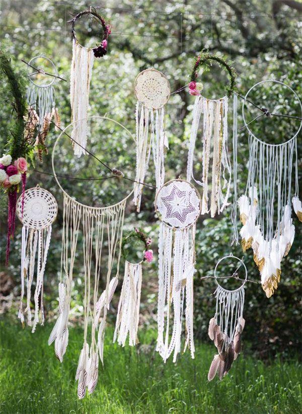 30 Dreamcatchers Boho Wedding Decor Ideas   All Wedding ...