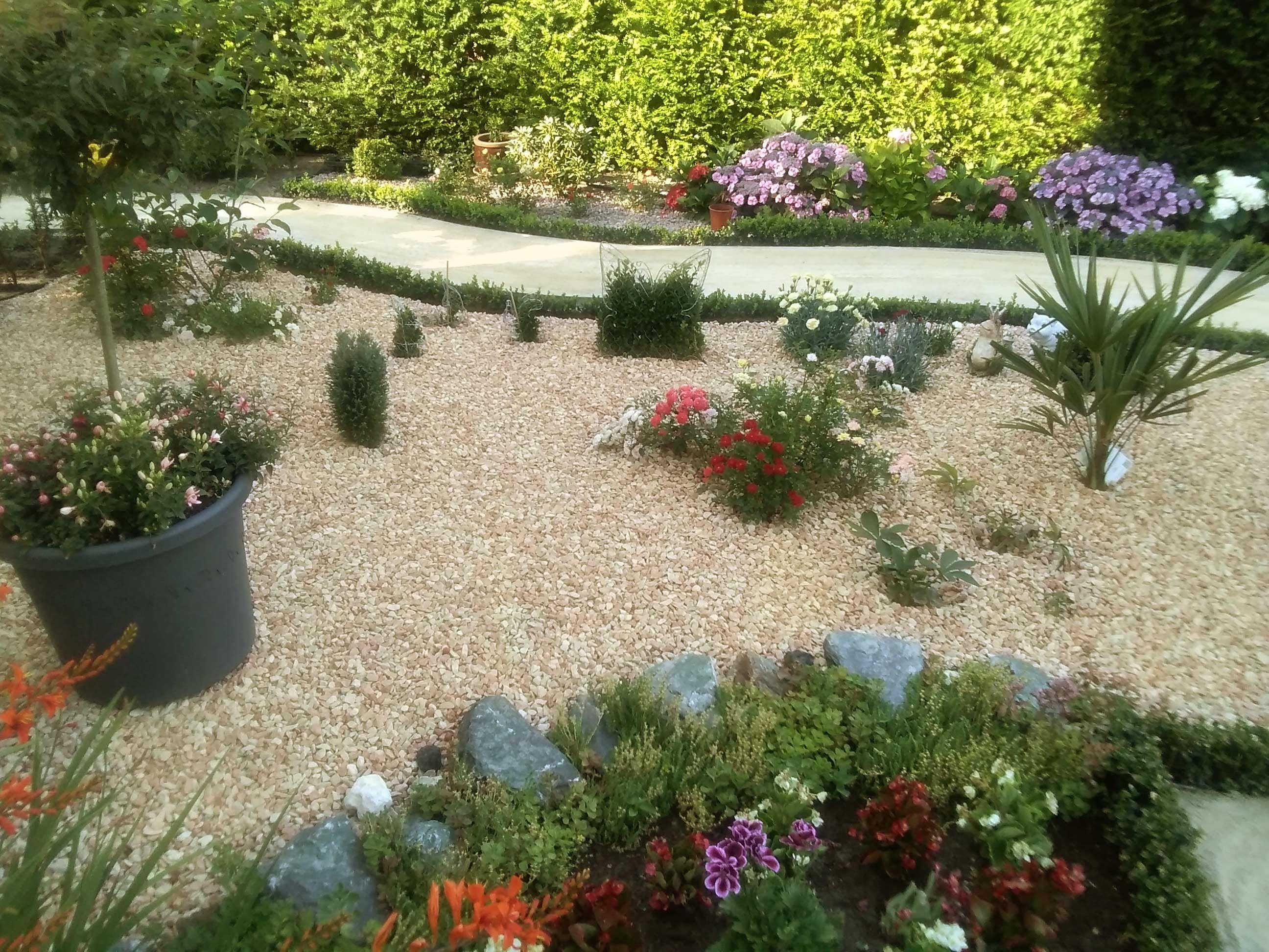 Como Construir Un Camino De Grava En El Jardin Huertos Y Jardines