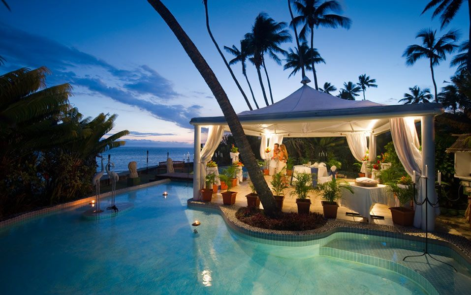 Fiji Destination Wedding Getting Married In Is The Dream Of Many Brides Imagine Yourself Marrying By Beach Surrounded Sparkling
