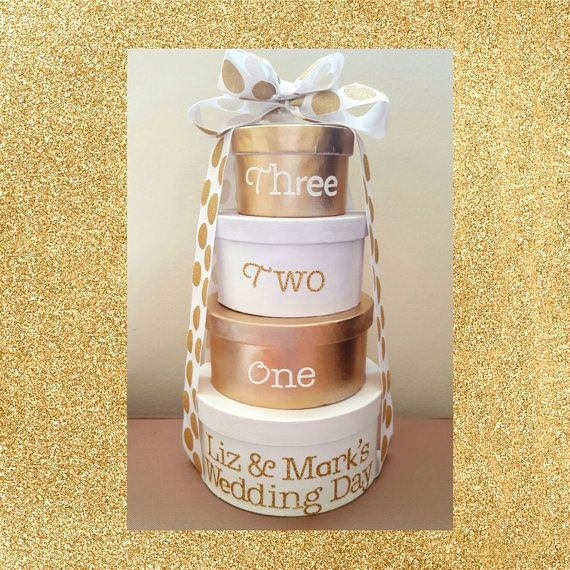 Wedding Countdown Gifts For Bride: Wedding Countdown 4-tier Wedding Cake Advent By OurYardley