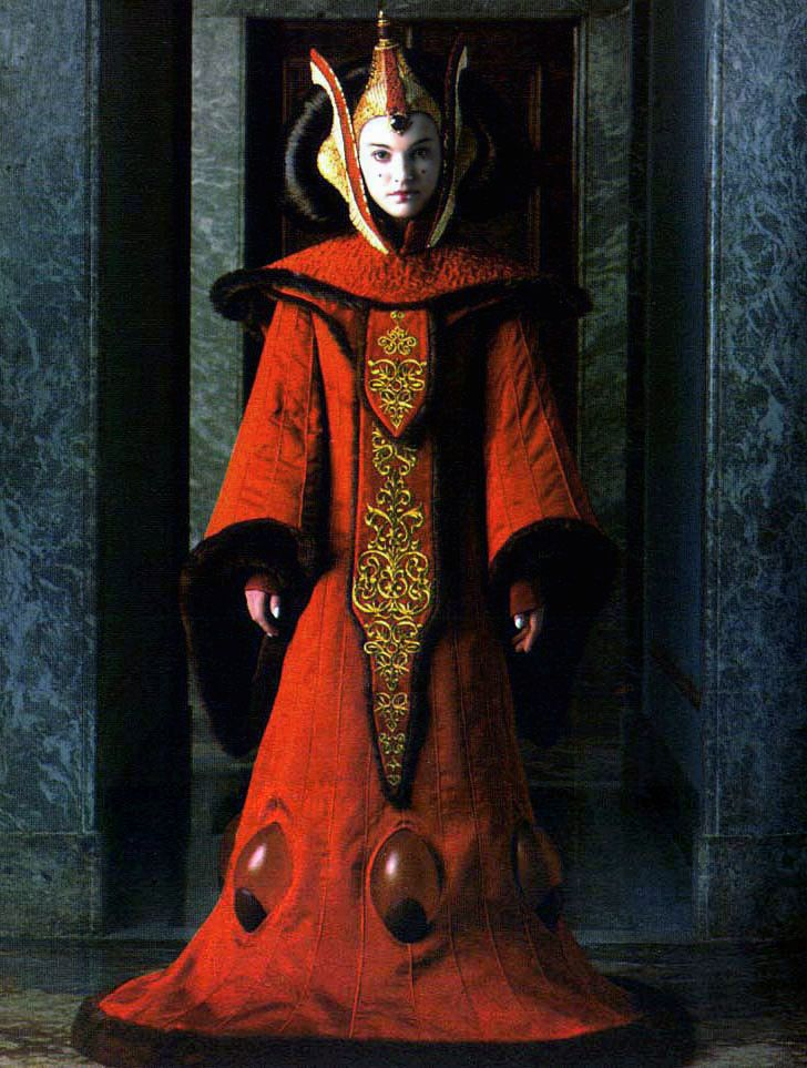 Padme queen amidala s costumes for star wars episode 1 - Princesse amidala star wars ...