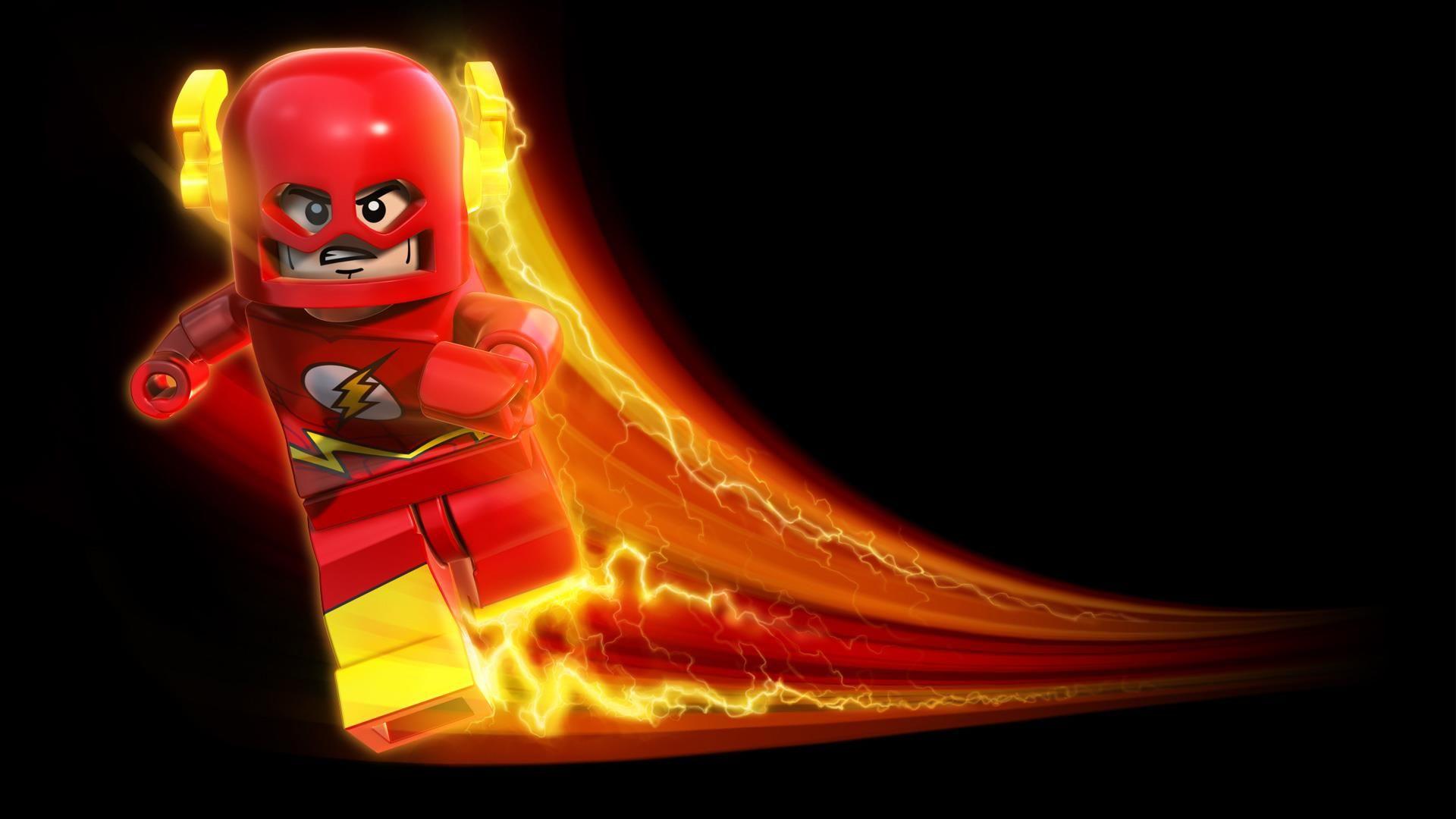 Lego Flash Running Wallpaper Hd Wall Desktop Dengan Gambar