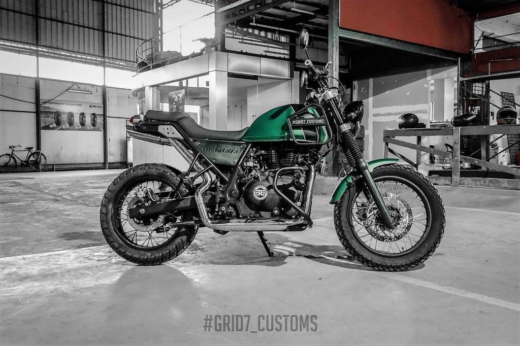 Modified Royal Enfield Himalayan By Grid7 Customs Enfield