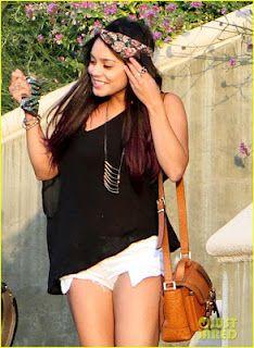 Celebrity Trend Alert: Dip Dye Hair (Vanessa Hudgens)