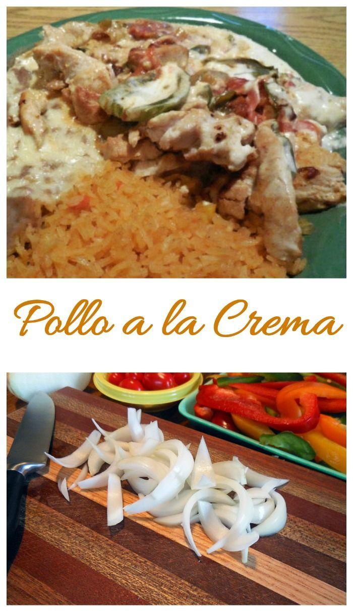 Photo of Pollo a la Crema Recipe – Mexican Delight – The Gardening Cook