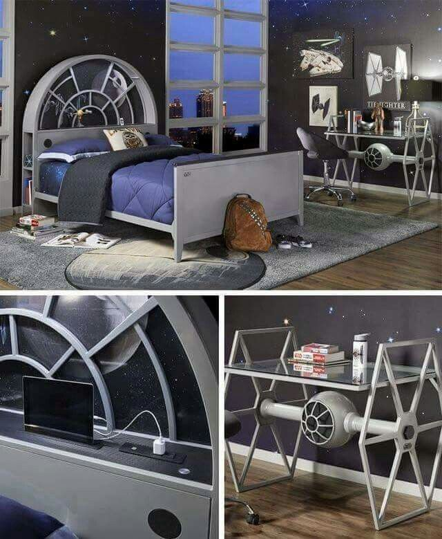Star wars bedroom pinteres Star wars bedroom ideas