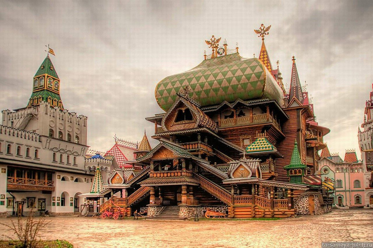 Картинки деревянный город