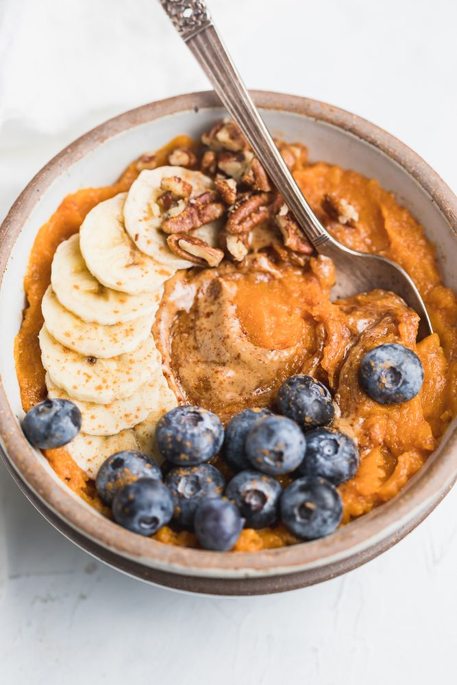 Sweet Potato Breakfast Bowls #sweetpotatorecipes