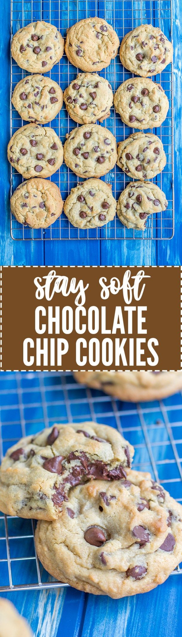 Stay Soft Chocolate Chip Cookies Recipe Soft Chocolate Chip Cookies Chip Cookies Chocolate Chip Cookies