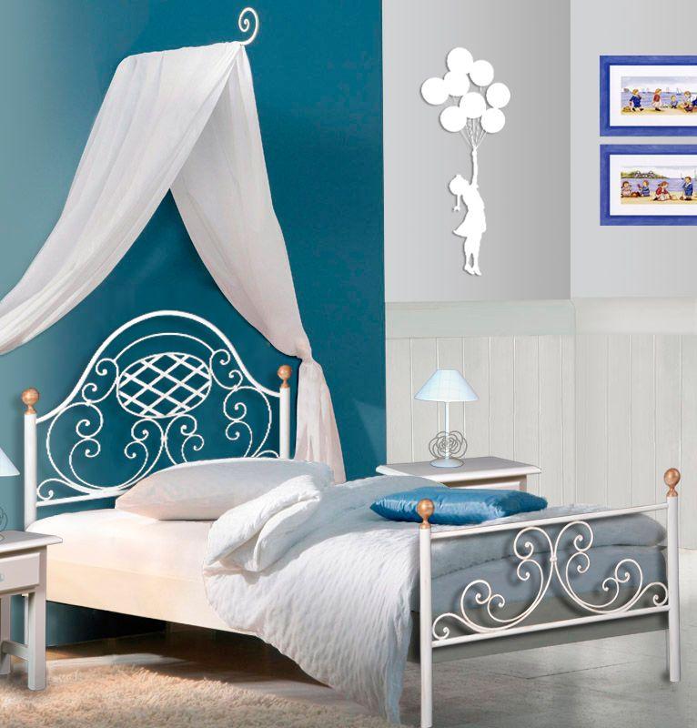 Cama de forja juvenil colecci n ver nica dise a tu cama nosotros te - Disena tu dormitorio ...