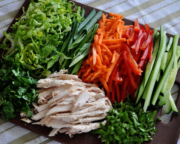 Vietnamese Chicken Salad Rolls From Pei Wei Copy Cat Recipe Aka My Favorite Food Ever
