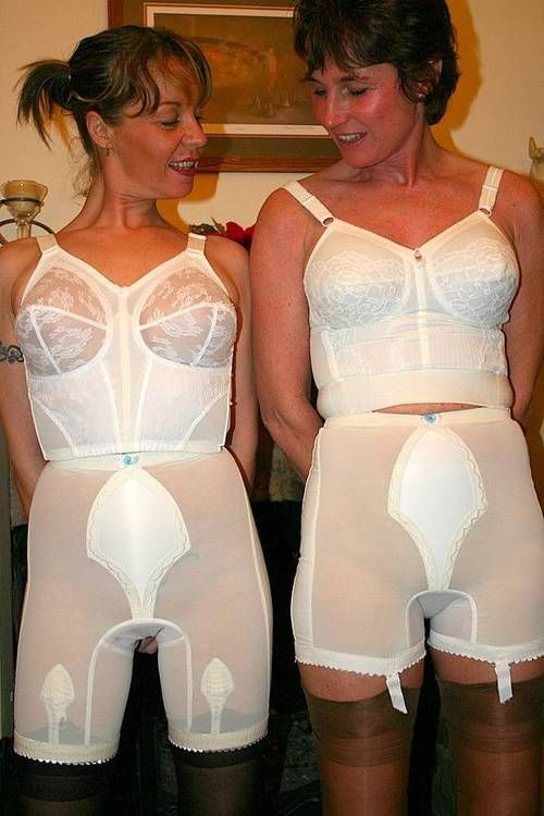 mature in corselette and pantygirdle bet