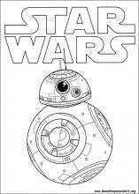 Desenhos Do Star Wars O Despertar Da Forca Para Colorir Desenho